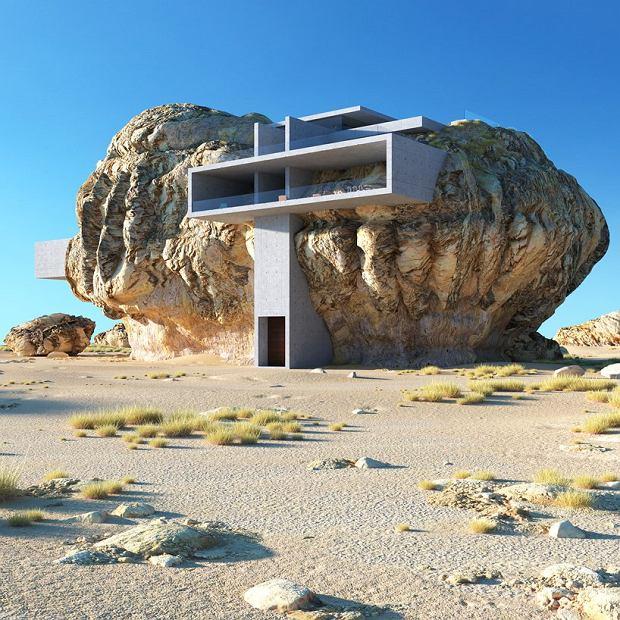 Poprzedni projekt architekta 'House inside the Rock'
