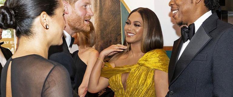 Gdy książę Harry załatwiał pracę Meghan, nikt nie zwracał uwagi na Beyonce a jej mina była bardzo wymowna