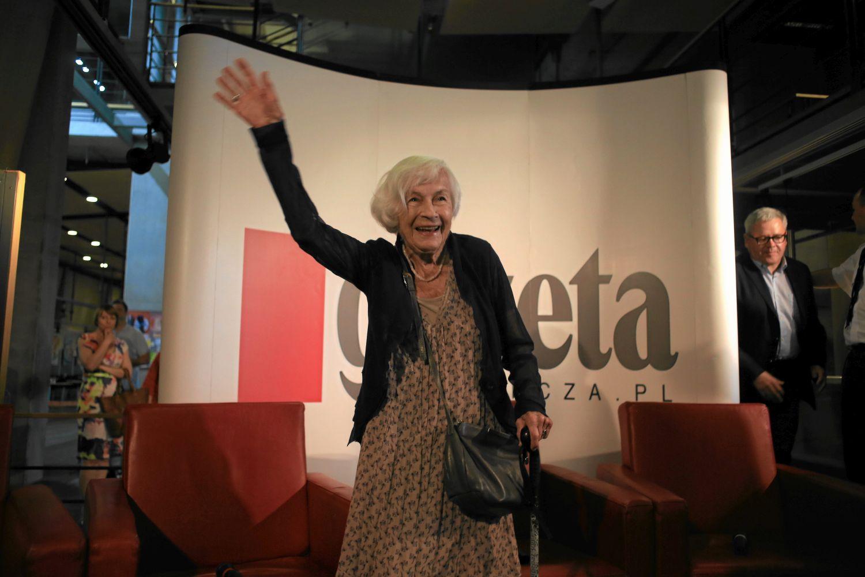 Danuta Szaflarska (Fot. Jacek Marczewski / Agencja Gazeta)