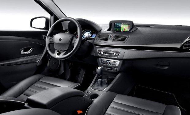 Renault Fluence - wnętrze