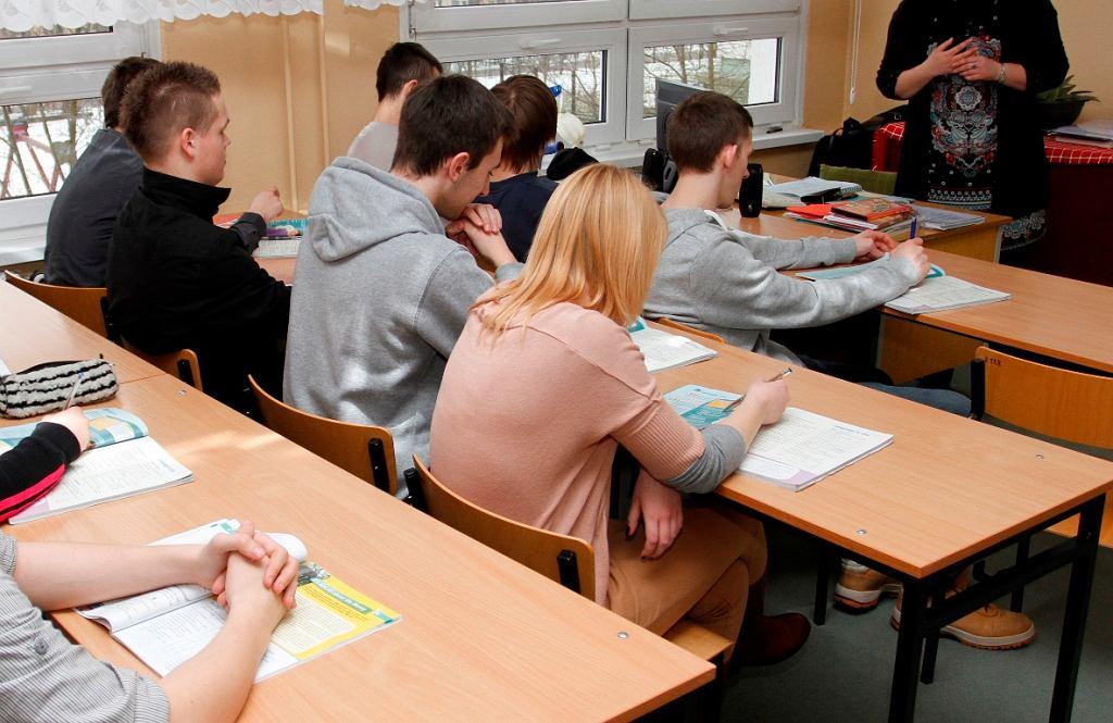 Bulwersujące zadanie w gdańskiej szkole (zdjęcie ilustracyjne)