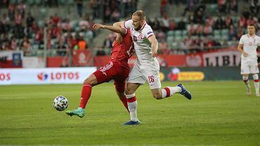 Przed wymianą murawy na Stadionie Wrocław rozegrano jeszcze mecz Polska-Rosja