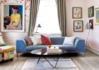 Wnętrza: duńskie mieszkanie pełne tapet