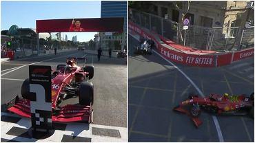 Charles Leclerc z pole position po kwalifikacjach do GP Azerbejdżanu