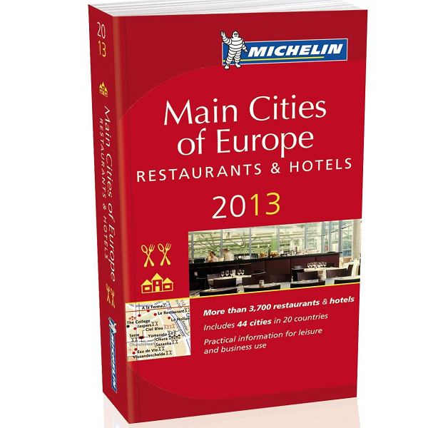 Przewodnik Michelin Main Cities of Europe 2013