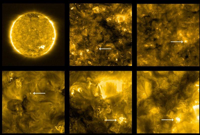 Zdjęcie Słońca wykonane przez Solar Orbiter