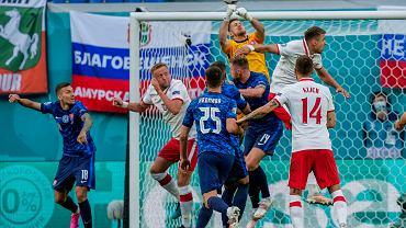 Euro 2020. Polska - Słowacja. Biało-czerwoni przegrywają po pierwszej połowie