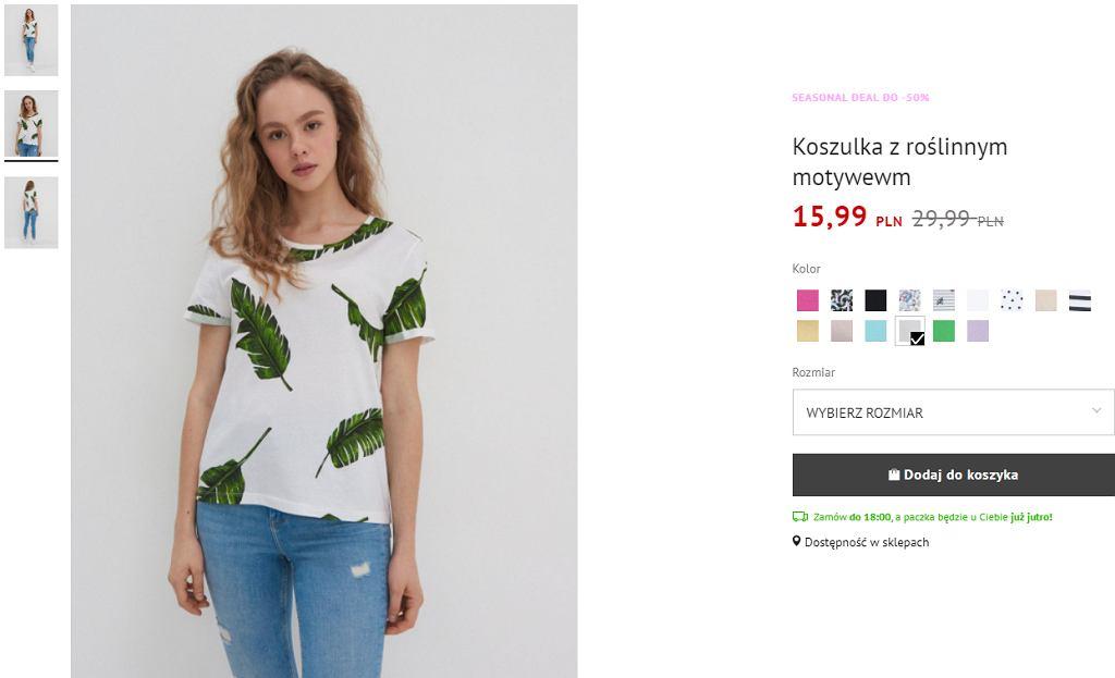 koszulka do 20 złotych