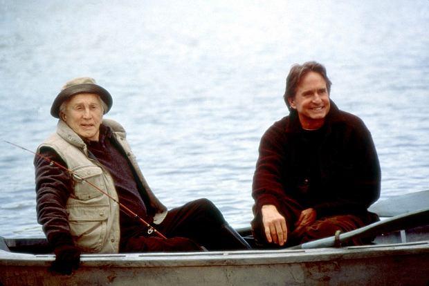 Kirk Douglas i jego syn Michael w filmie 'Wszystko w rodzinie' (2003)