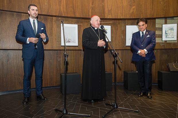 W uroczystości wziął udział Kardynał Kazimierz Nycz
