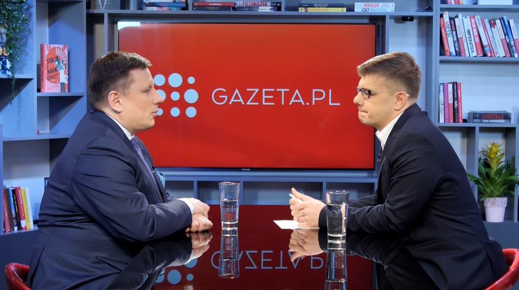 Poranna rozmowa z Gazeta.pl z prezesem LOT