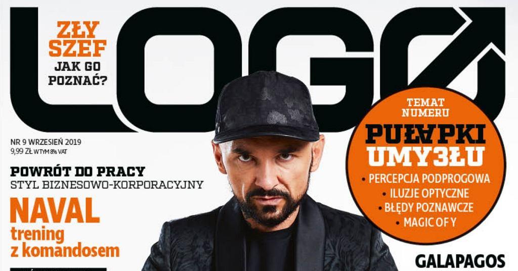 Okładka Magazynu LOGO - wrzesień 2019