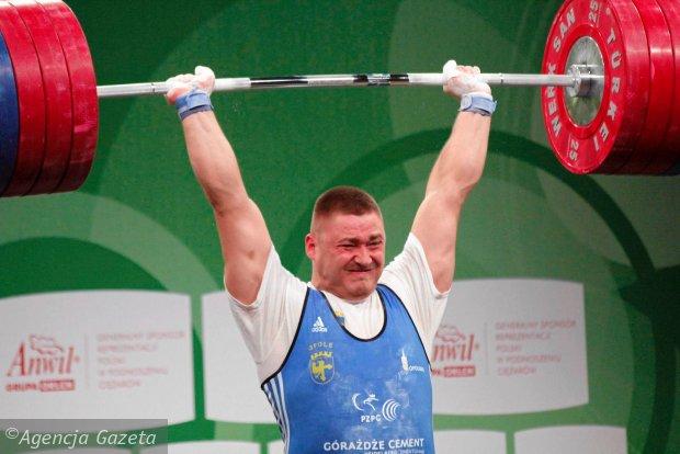 Arkadiusz Michalski mistrzem Europy w podnoszeniu ciężarów