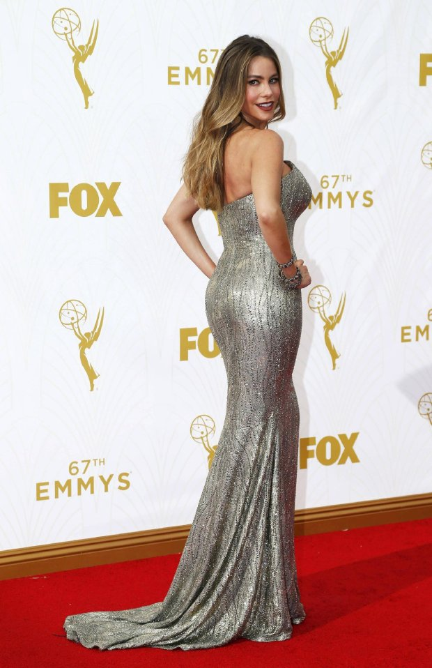 Actress Sofia Vergara arrives at the 67th Primetime Emmy Awards in Los Angeles, California September 20, 2015.  REUTERS/Mario Anzuoni