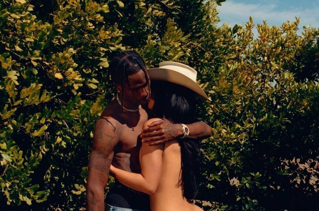 Kylie Jenner w 'Playboyu' z Travisem Scottem