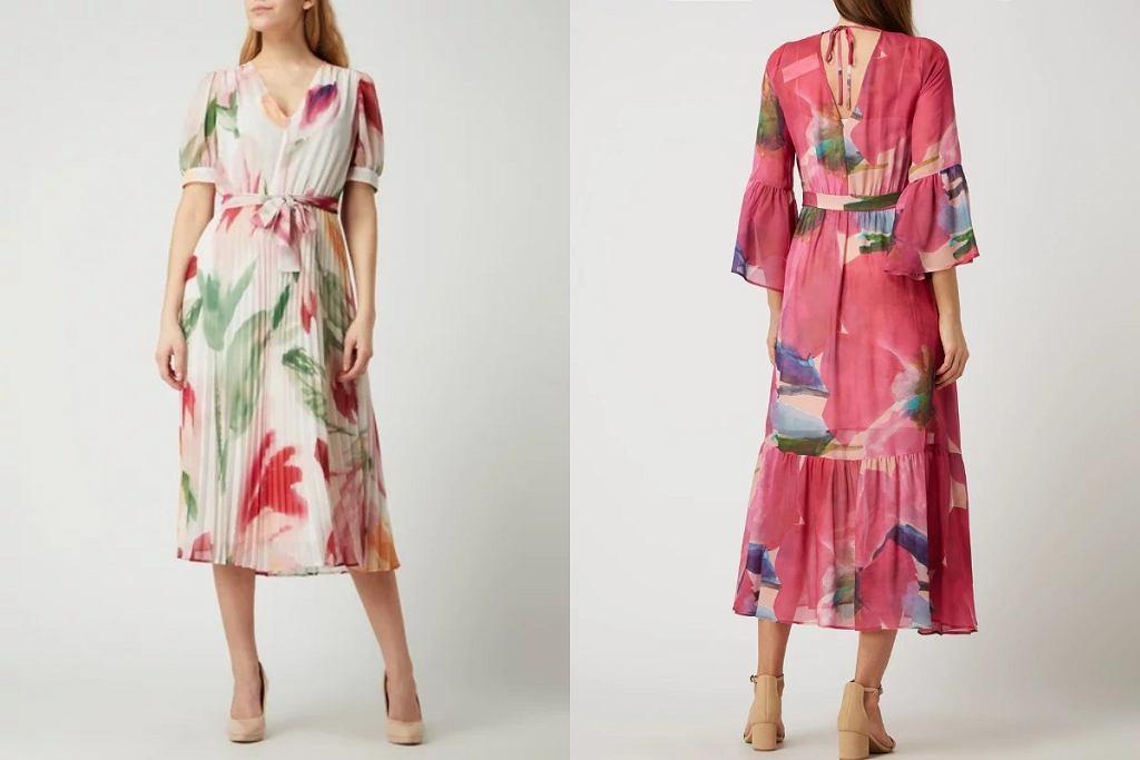 Sukienki w kwiaty