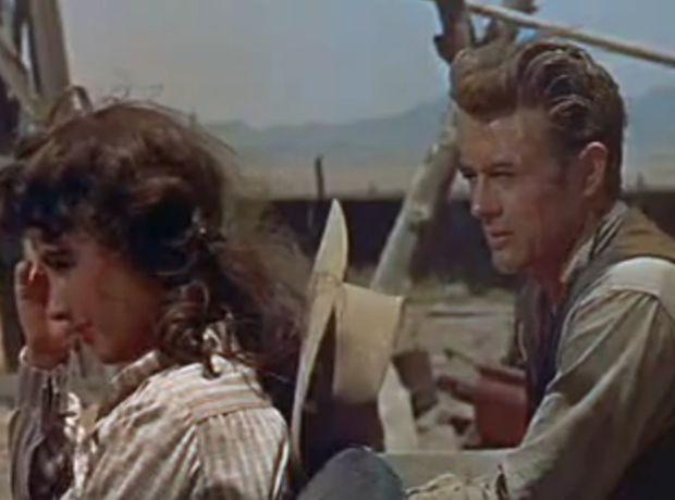 Elizabeth Taylor, James Dean