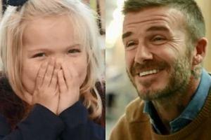 David Beckham odwiedził w szpitalu chorą dziewczynkę