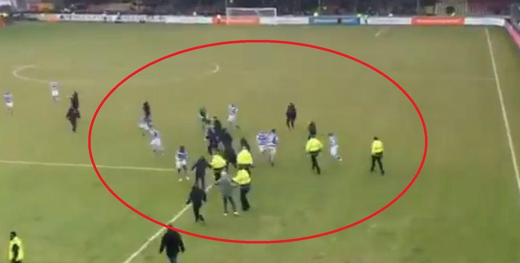 Atak na piłkarzy De Graafschap