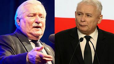 Lech Wałęsa, Jarosław Kaczyński