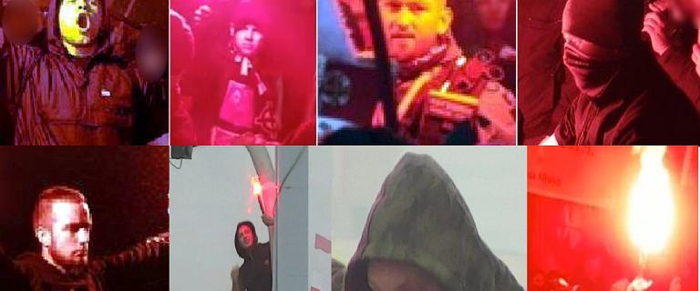 Marsz Niepodległości. Policja publikuje wizerunki kolejnych poszukiwanych