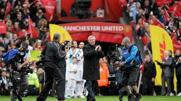 Sir Alex Ferguson na Old Trafford