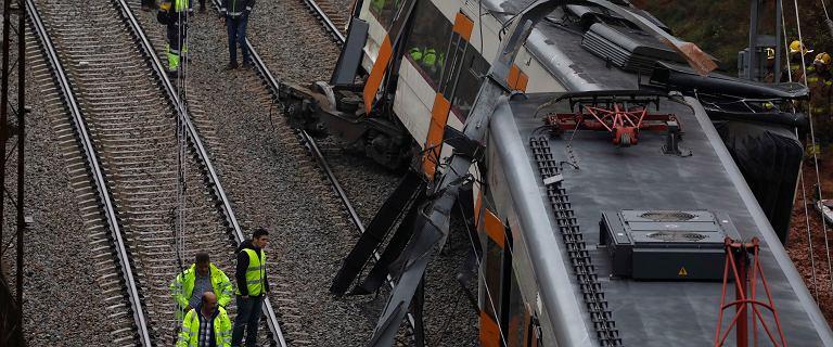 Hiszpania. Niedaleko Barcelony wykoleił się pociąg. Jedna osoba nie żyje