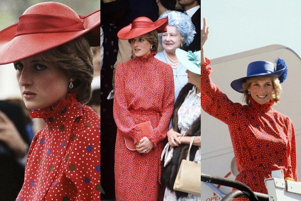 księżna Diana stylizacje