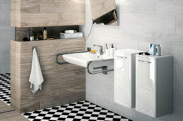 Łazienka dla niepełnosprawnych