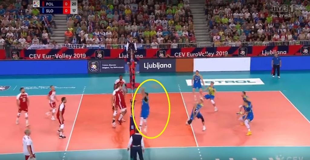 Dejan Vincić dotyka piłki? Polska - Słowenia