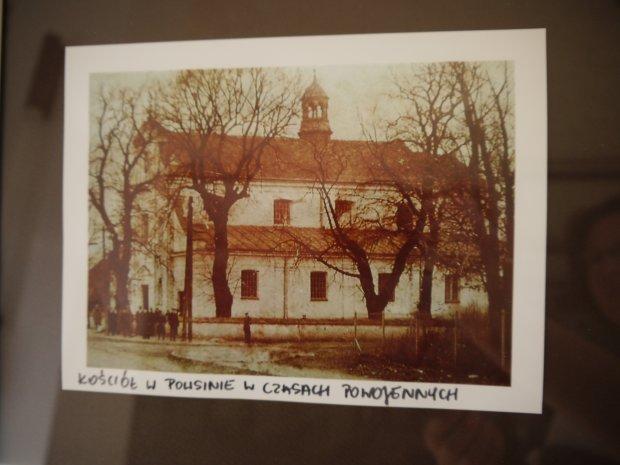 Kościół w Powsinie w czasach przedwojennych
