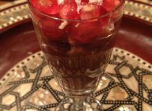 Orientalny deser z tahini i daktylami - ugotuj