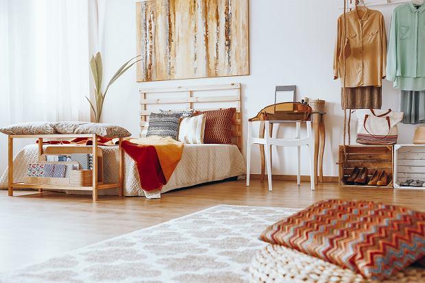 Aranżacja sypialni w stylu etno - zainspiruj się