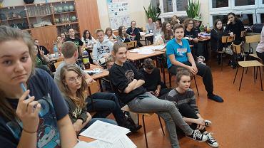 Nocny maraton matematyczny w I LO w Białymstoku