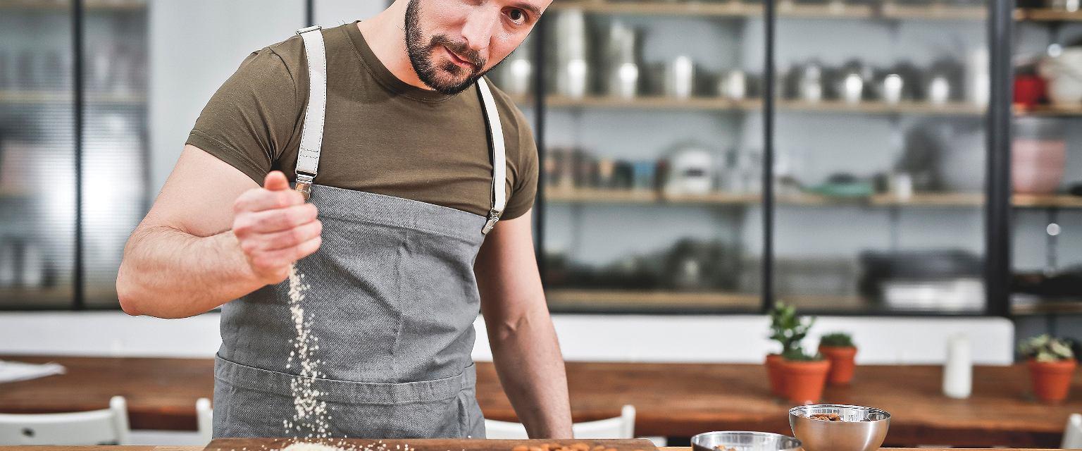 Michał Lachur (fot. Robert Magdziak dla CookUp Talents)