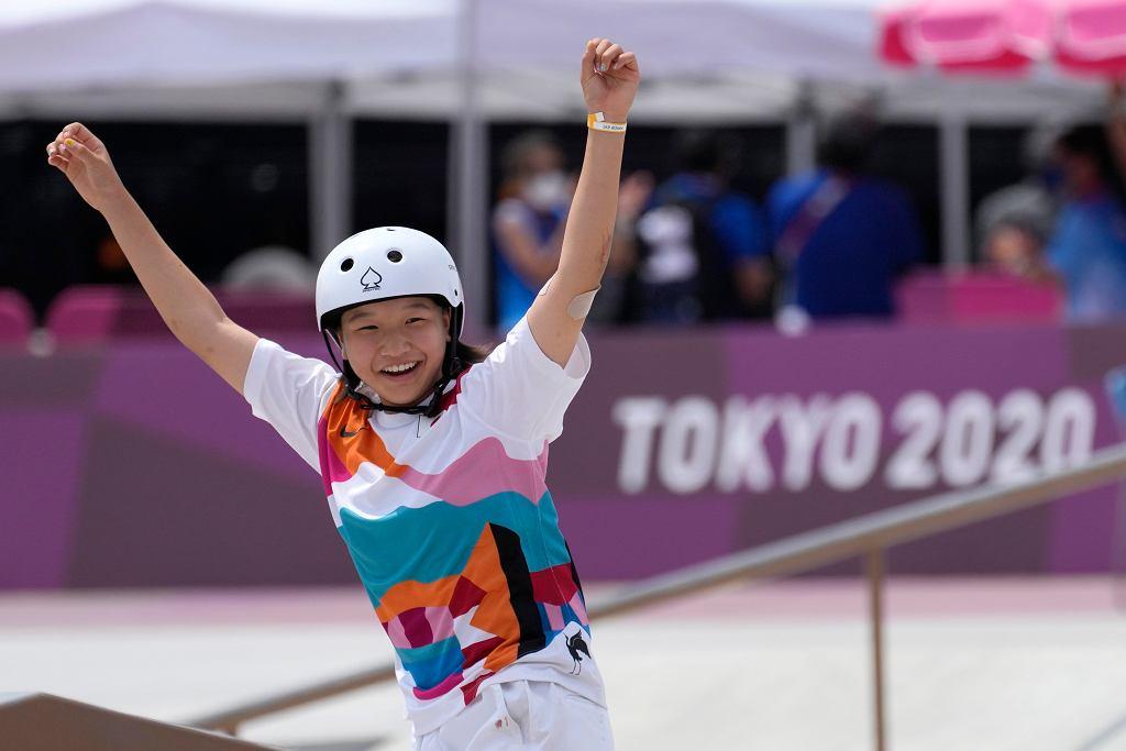 13-letnia Momiji Nishiya złotą medalistką w skateboardingu
