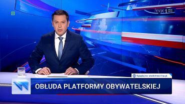 'Wiadomości' TVP z 6.10.2019