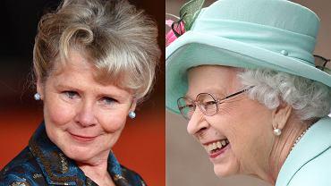 Imelda Staunton, królowa Elżbieta II