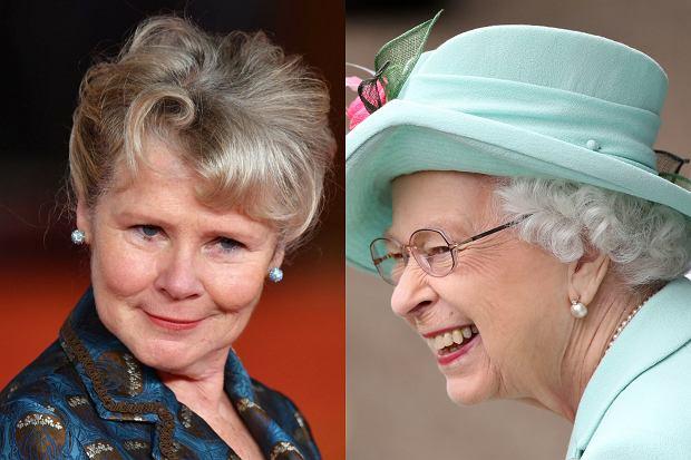 """Trwają prace nad piątym sezonem serialu """"The Crown"""". Netflix, czyli platforma, na której będzie można oglądać produkcję, udostępniła zdjęcie Imeldy Staunton, która w nadchodzącym sezonie zagra królową Elżbietę II. Jest jej zdjęcie w charakteryzacji."""