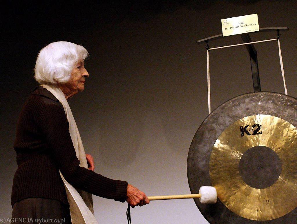 / 01.10.2012 Gong im. Danuty Szaflarskiej w Teatrze Starym, Fot. Piotr Kozłowski / Agencja Gazeta