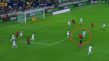 Xeka (OSC Lille) strzela gola w meczu o Superpuchar Francji przeciwko PSG. Źródło; Twitter