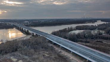 Most na Południowej Obwodnicy Warszawy już do remontu. Utrudnienia w ruchu do końca tygodnia