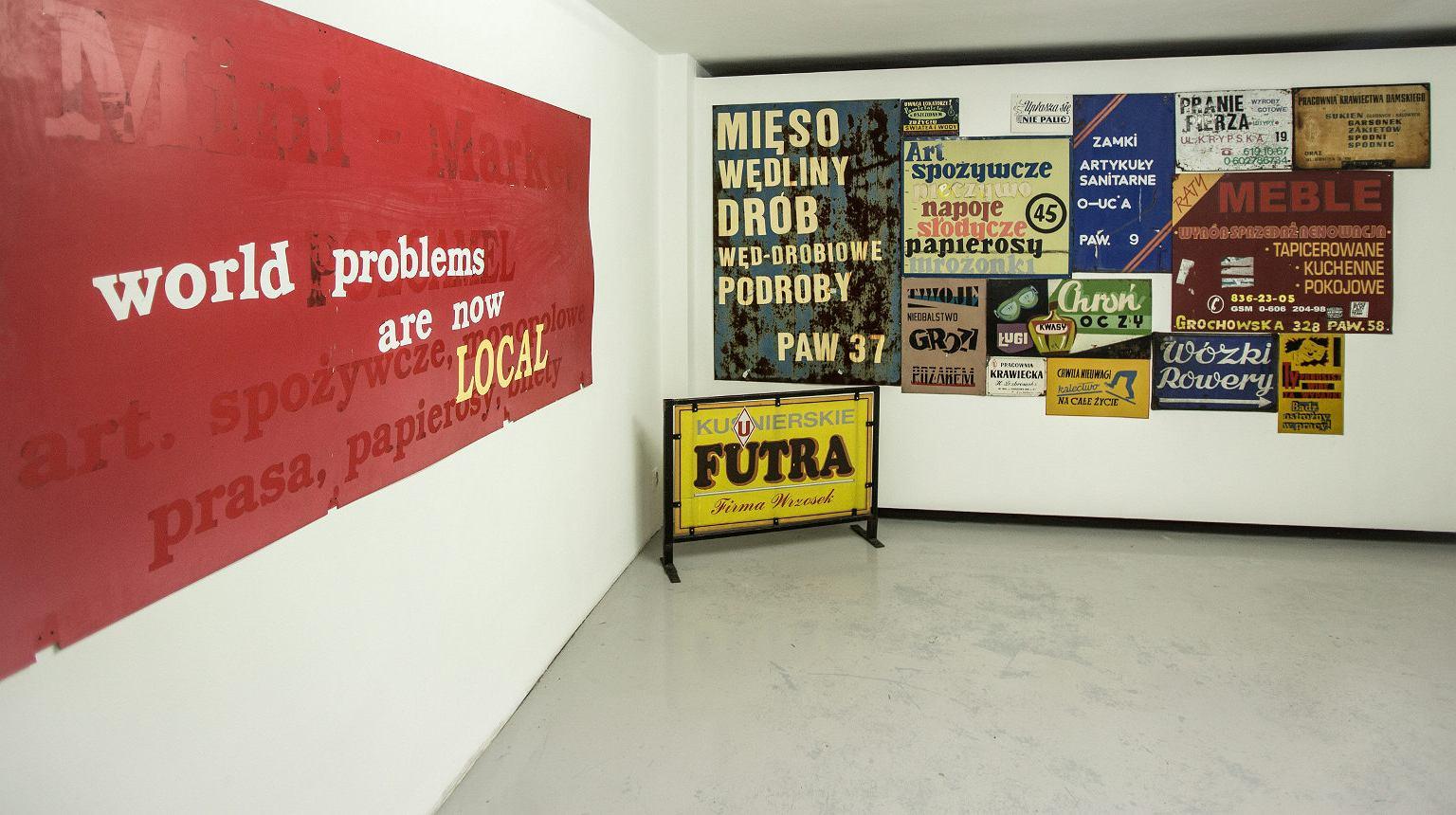 Muzeum Sztuki Nowoczesnej. Wystawa 'TypoPolo'