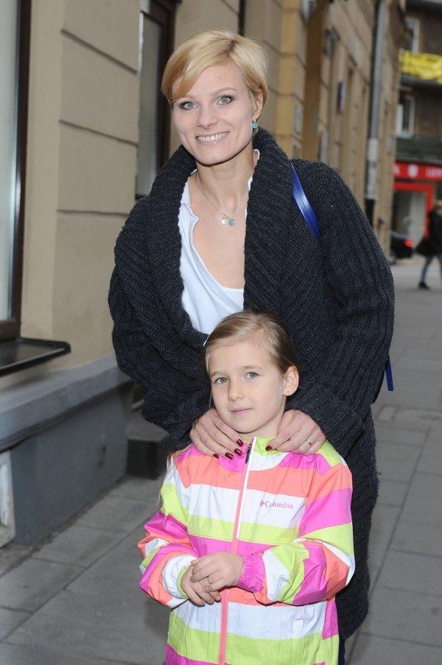 Anna Głogowska z córką Julią