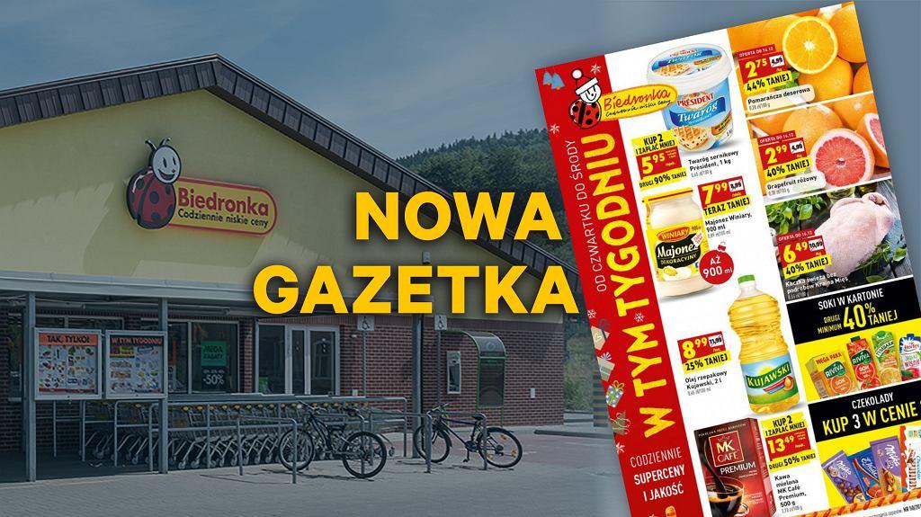 Gazetka Biedronka 13.12.2018