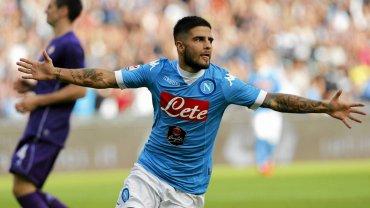 Napoli - Fiorentina 2:1. Lorenzo Insigne