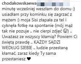 Odpowiedź Ewy Chodakowskiej