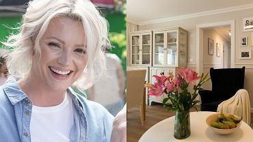 Dorota Szelągowska wyremontowała mieszkanie 56-letniej nauczycielce. Salon jest bardzo klimatyczny, a kuchnia nie do poznania