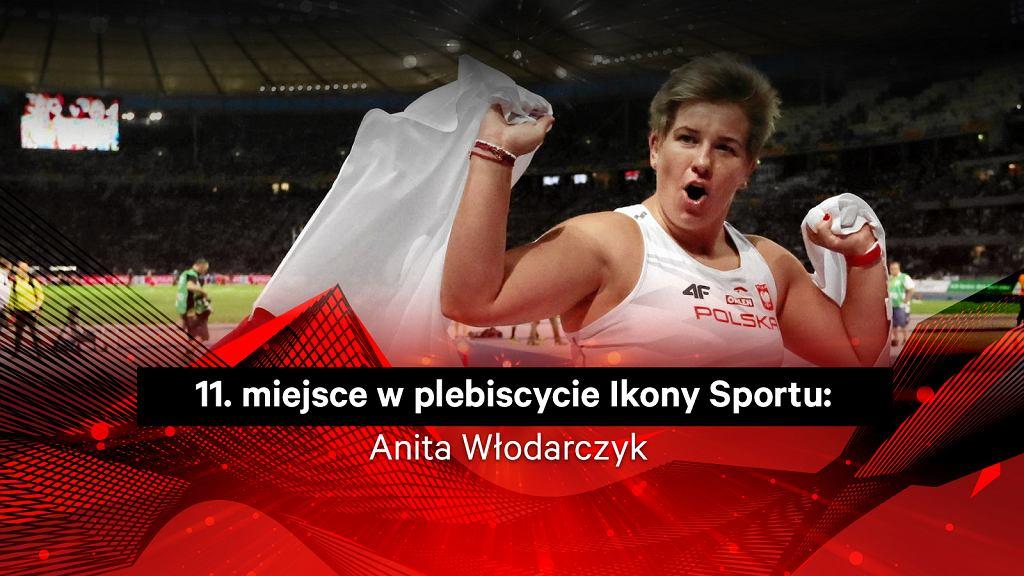 Anita Włodarczyk 11. w plebiscycie Ikony Sportu
