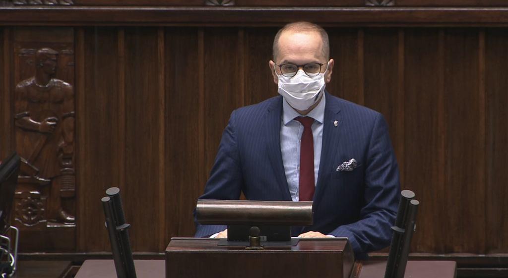Sejm - dyskusja na temat respiratorów